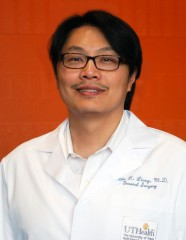 Dr. Mike Liang, principal investigator, Harris Health System's Lyndon B. Johnson Hospital, and assistant professore, UTHealth