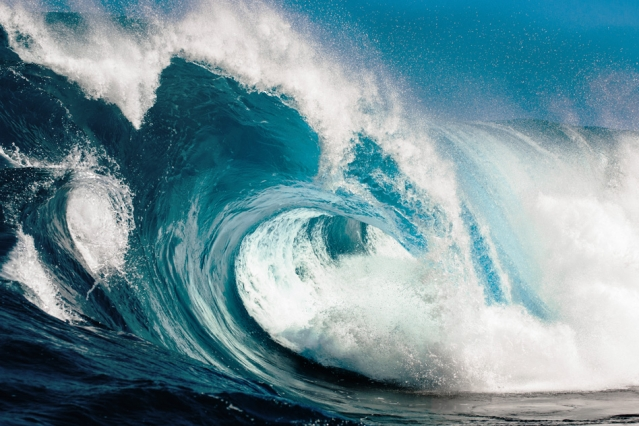 """These waves really talk to each other,"" Themis Sapsis says. ""They interact and exchange energy. It's not just bad luck. It's the dynamics that create this phenomenon."""