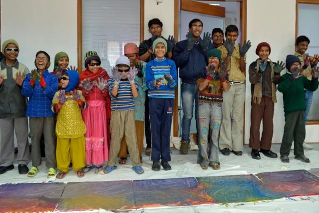 Children participants in an