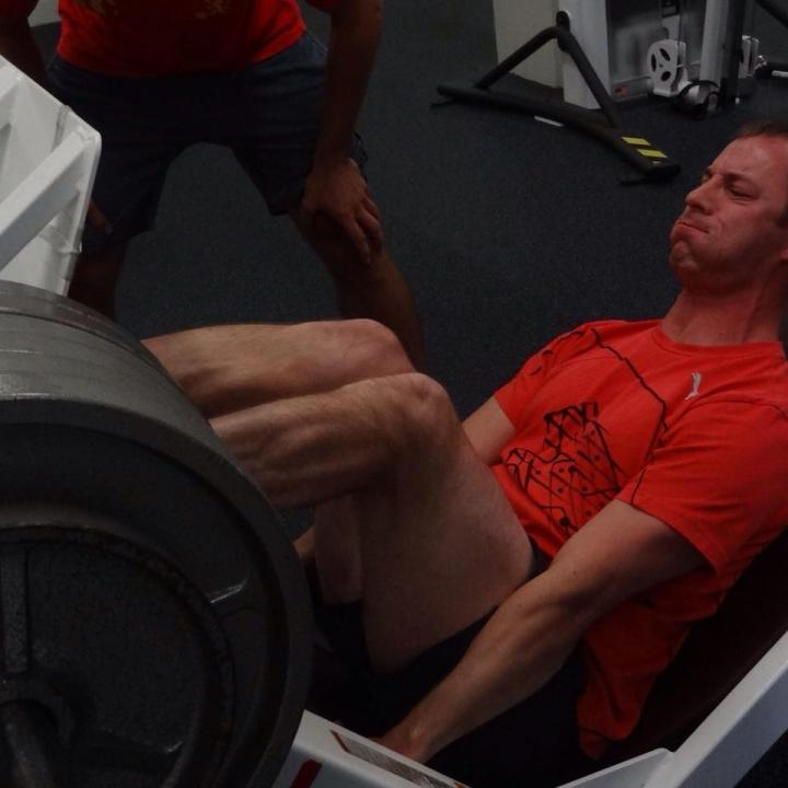 Overcome strength-training plateau with accentuated eccentric loading