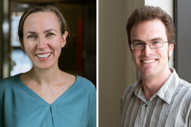 Biobarrier explorer and dark matter theorist win MIT's prestigious junior faculty award