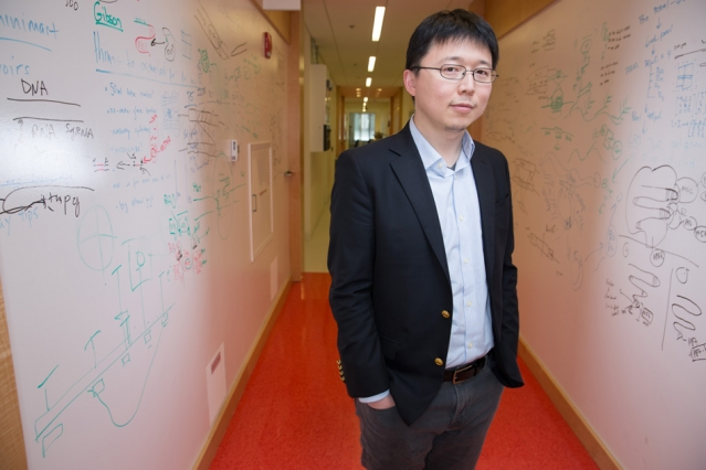 """I was always interested in biology but I felt that it's important to get a solid training in chemistry and physics,"" Feng Zhang says."
