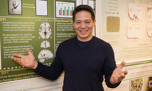 Peter Ulric Tse, professor of Psychological and Brain Sciences at Dartmouth