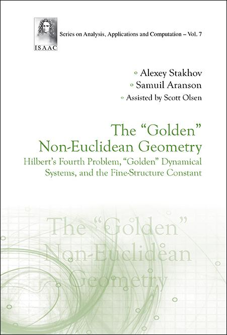 Application of the mathematics of harmony — Golden non-Euclidean geometry in modern math
