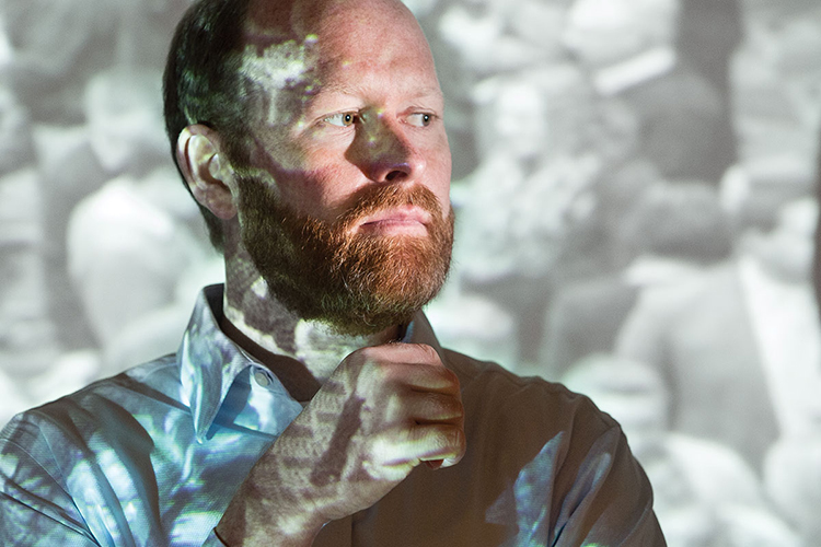 Paul Auer, an assistant professor of biostatistics in the Joseph J. Zilber School of Public Health