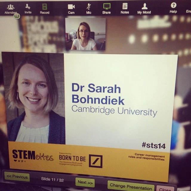 Sarah Bohndiek, scientist at the Cancer Research UK Cambridge Institute