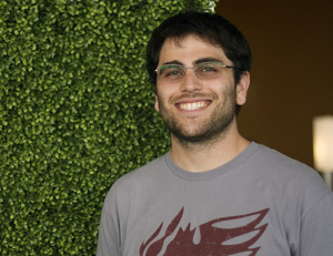 Gabriel Salzman, an MD/PhD student in the Biophysical Sciences Graduate Program at UChicago
