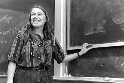 Gaillard teaching in the early 1980s
