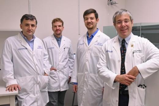 (l-r) Dr. Erdal Toprak, Dr. Seth Daly, Yusuf Talha Tamer, and Dr. David Greenberg