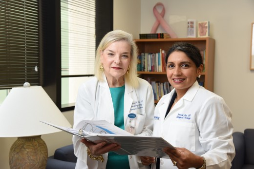 Dr. Barbara Haley (left) and Dr. Roshni Rao