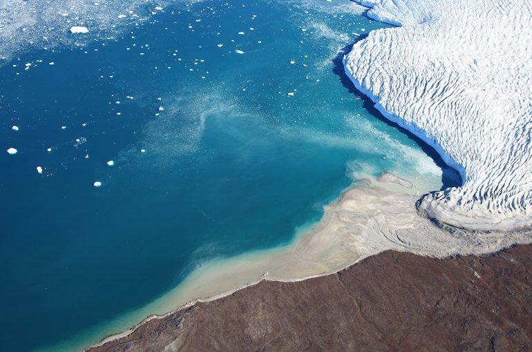 Sarqardliup glacier in west Greenland. Credit: Shfaqat Abbas Khan