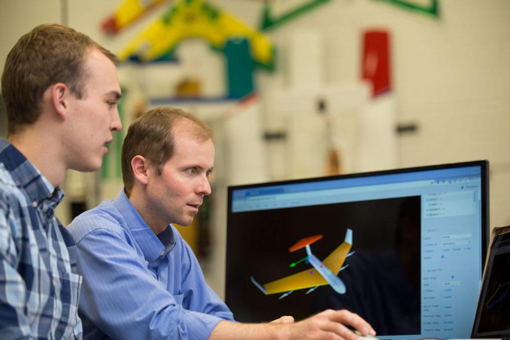 USU aerospace engineering faculty Doug Hunsaker created a free aircraft design software