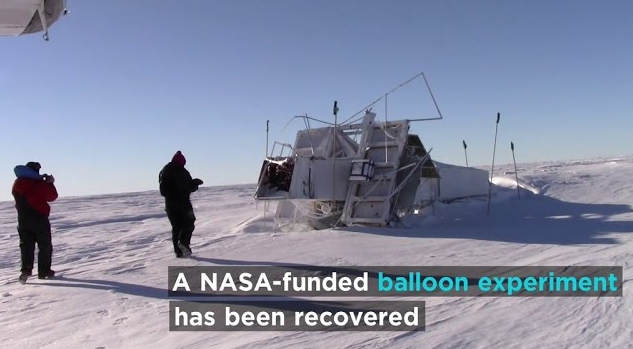 NASA-funded balloon recovered a year after flight over Antarctica