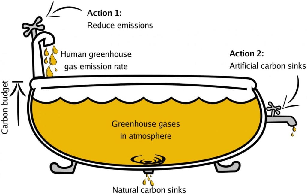 human contribution to global warming