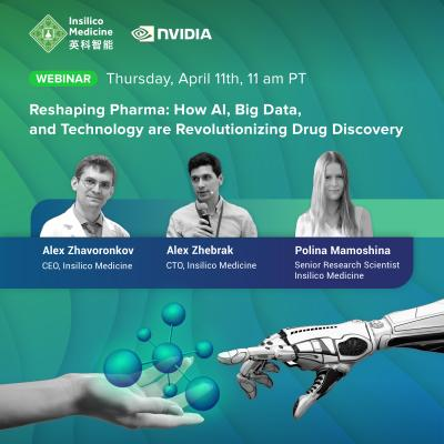 Insilico Medicine to present at NVIDIA webinar | Scienmag: Latest