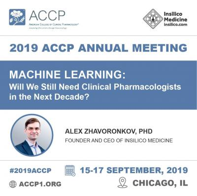 Insilico Medicine to present at the 2019 ACCP Annual Meeting