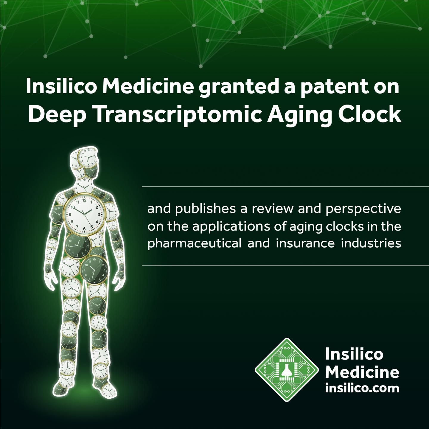 Insilico Publishes A Review Of Deep Aging Clocks And Announces The Issuance Of Key Patent Scienmag Latest Science And Health News